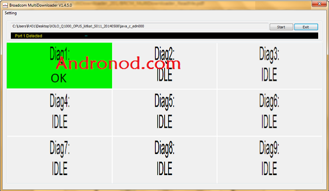 Cara Mudah Flashing Advan Vandroid S5 Work 100%