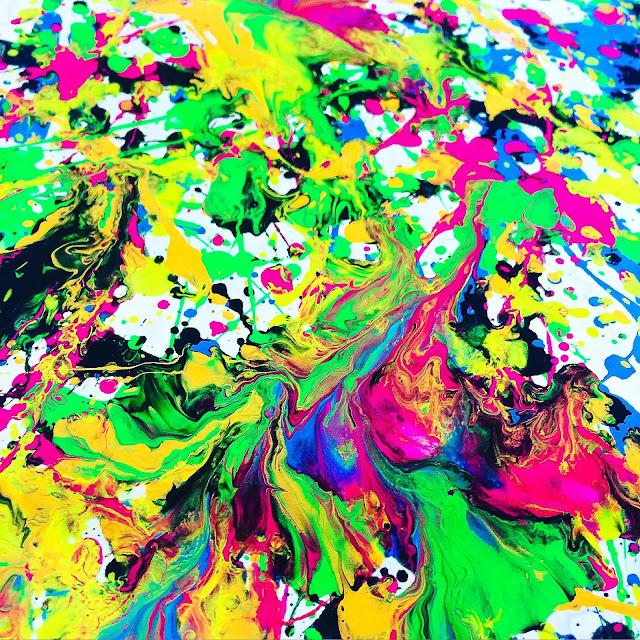 SmART Class: Splatter Paint Innitials