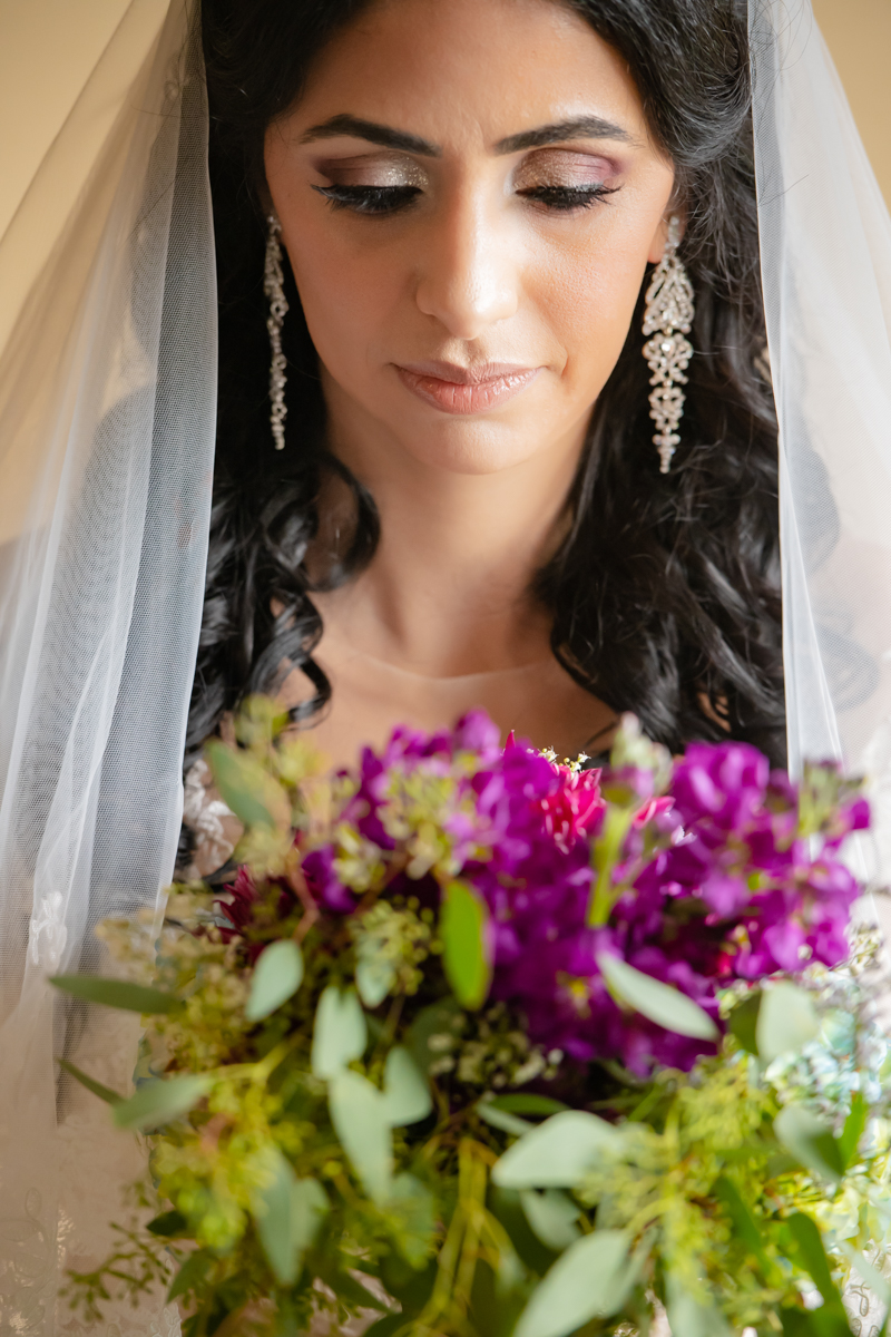 The Bride is so beautifully adorned