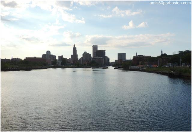 Skyline de la Ciudad de Providence, Rhode Island