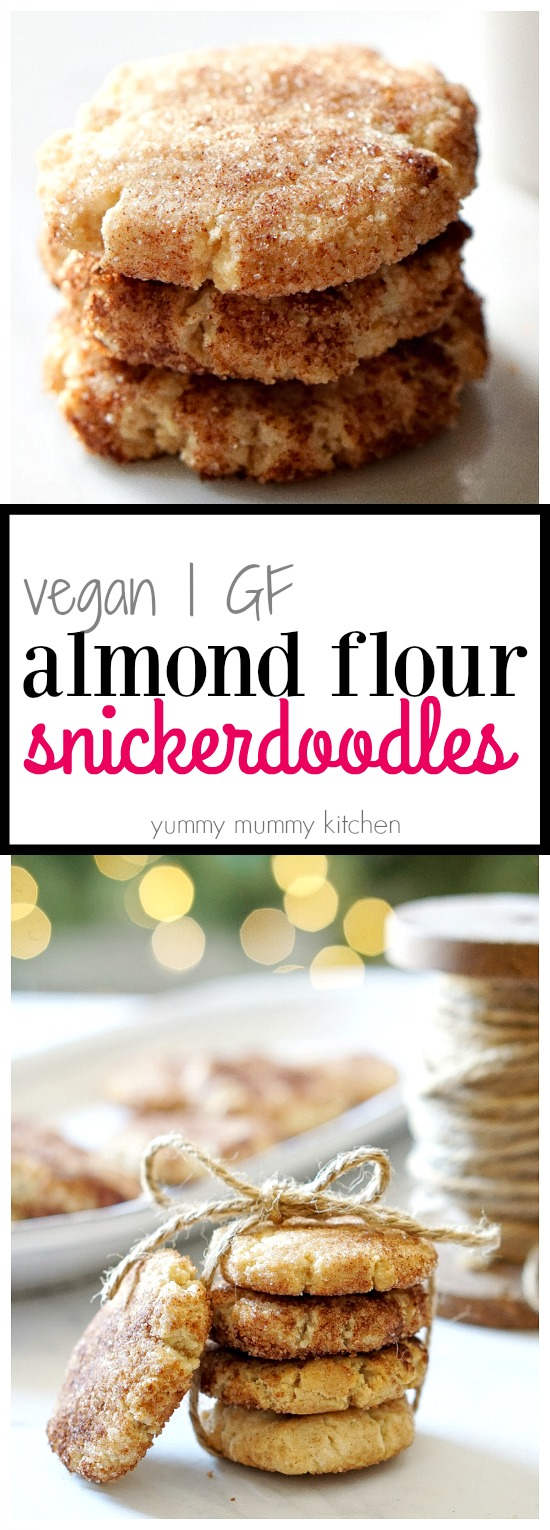 Almond Flour Snickerdoodles Yummy Mummy Kitchen A