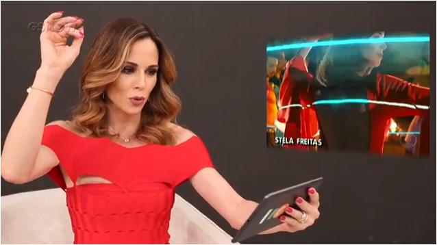 """Abertura """"Explode Coração"""": Ana Furtado gravou por 30 horas e perdeu unha do pé"""