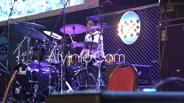 Drummer Indonesia Gilang Ramadhan