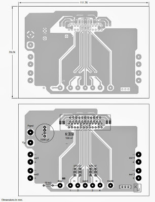 layout for 4 x 40W TDA8569Q Audio Amplifier
