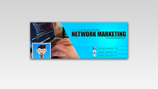Download FREE PSD Facebook Timeline Cover design for Network Marketing Free for Personal and Commercial use