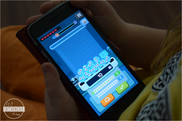 kindergarten math ap for families on the go