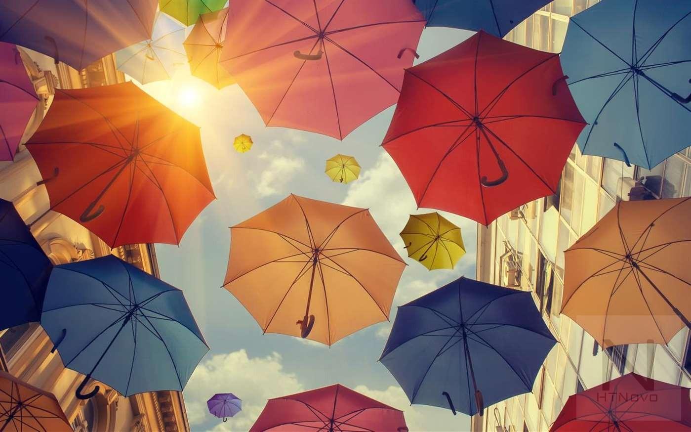 Umbrellas-tema