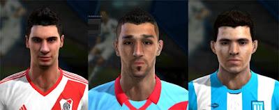 Facepack Liga Argentina 2016 Pes 2013 By Frank