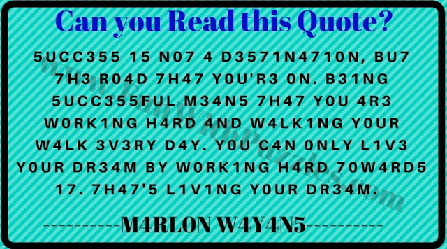 If you can read this you are genius