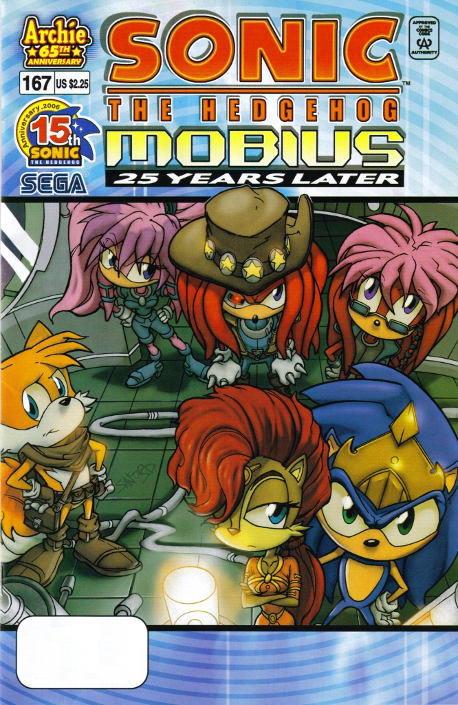 Read online Sonic The Hedgehog comic -  Issue #167 - 1