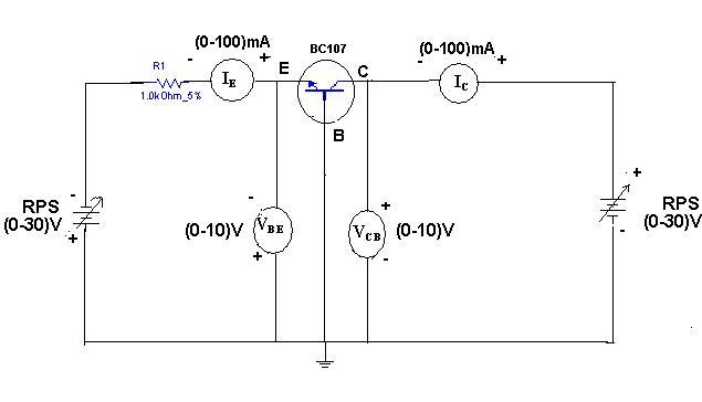 common base transistor characteristics lab manual