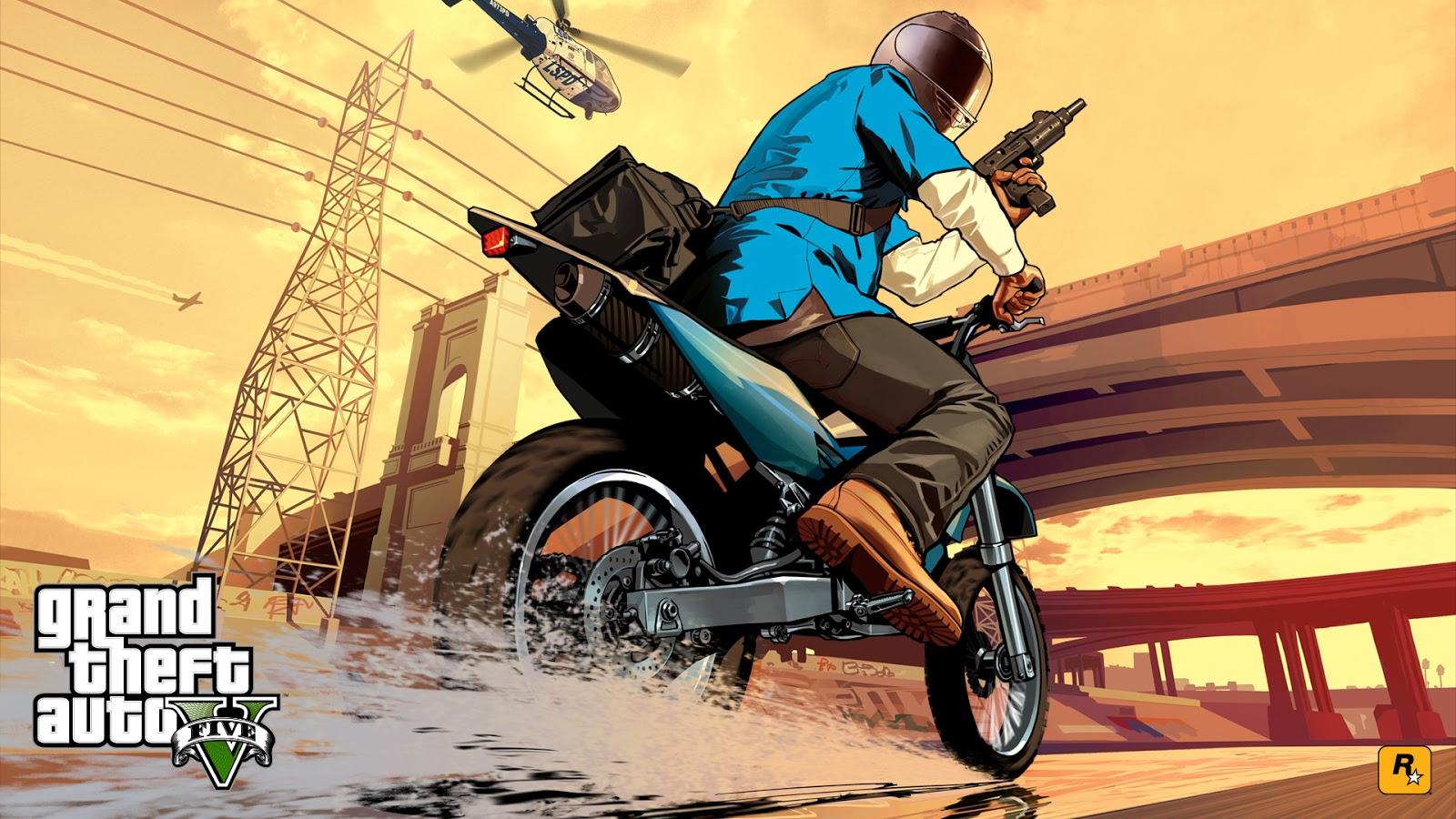 DaeTube: GTA V HD Wallpaper Desktop Background Sceenshoot Game (GTA 5)