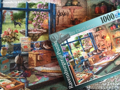 The Craft Shed jigsaw from Ravensburger review