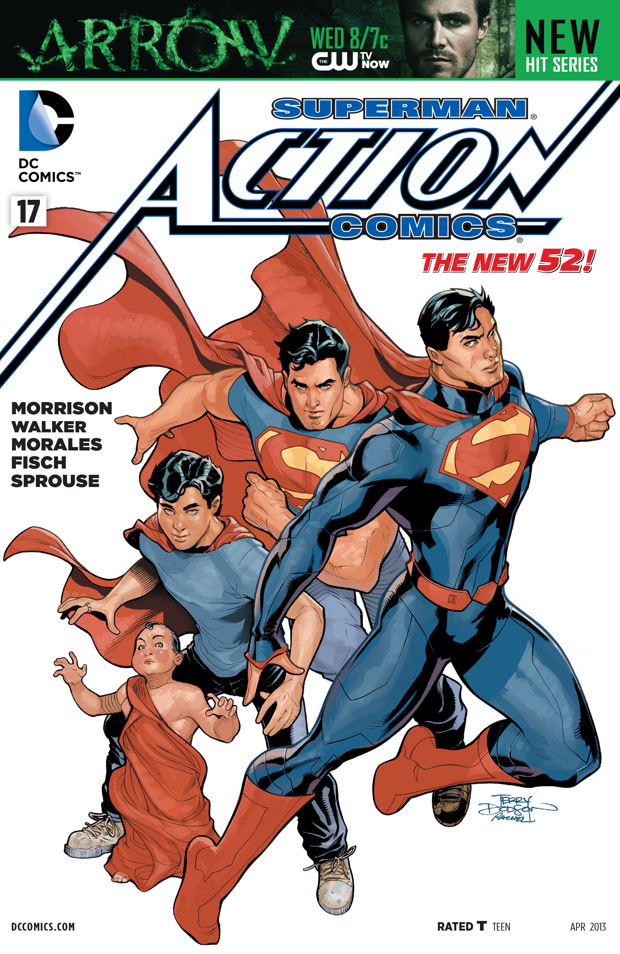 Read online Action Comics (2011) comic -  Issue #17 - 2