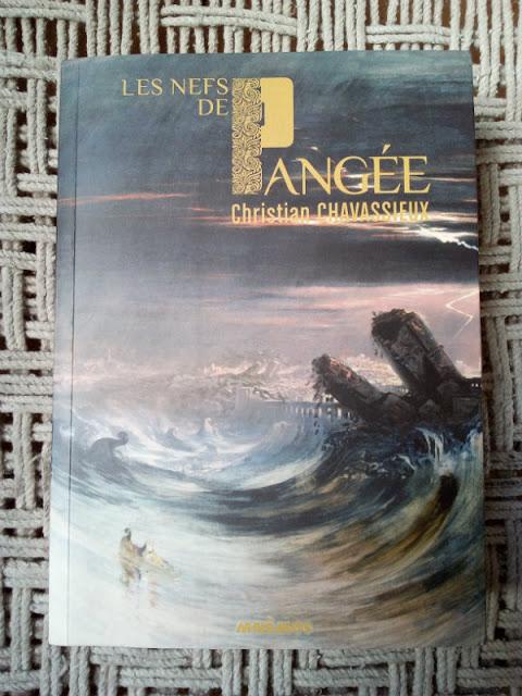 """""""Les nefs de Pangée"""" - Christian Chavassieux - Mnémos éditions"""