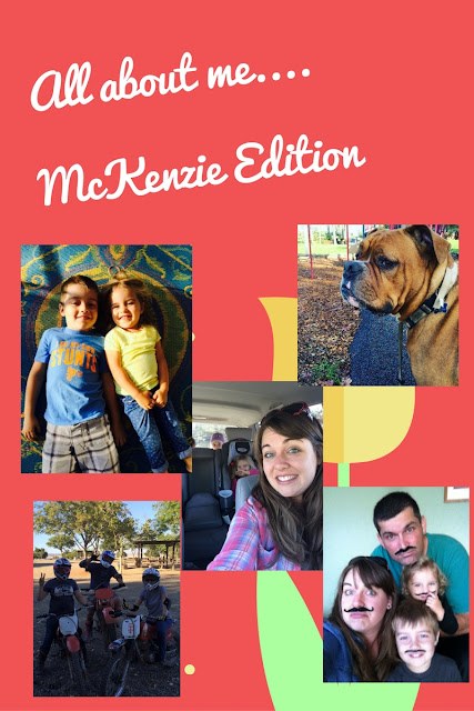Mom2MomEd Blog: All About Us--McKenzie Edition