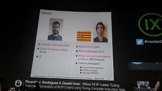 Daniel Uroz  y Ricardo J. Rodriguez - RoP meets Turing