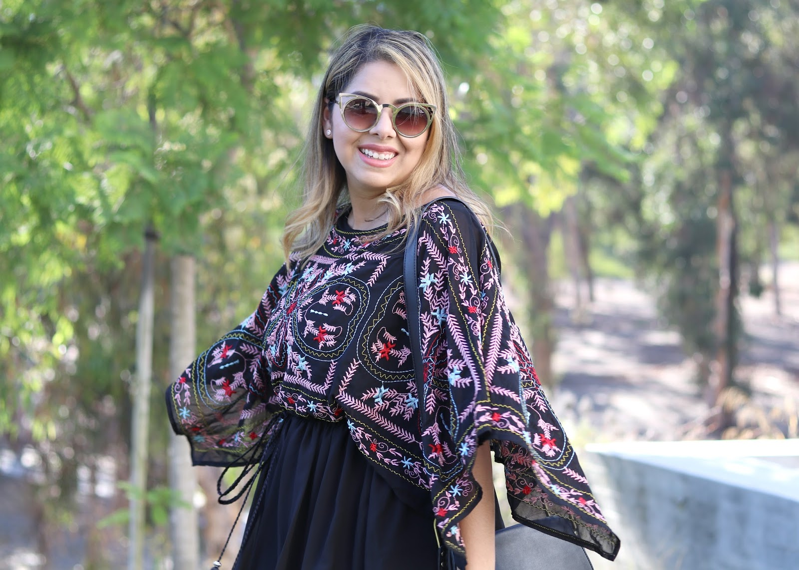 fun flowy dress, summer 2016 flowy dress, chicwish blogger, latina fashion blogger