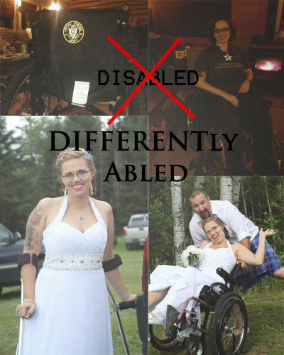 NOT disabled....DIFFERENTLY-abled!