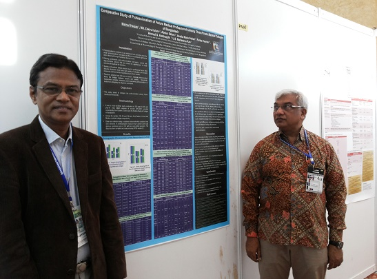 With Professor Dr. Mainul Hoque, ICMHS, 2013, Malaysia