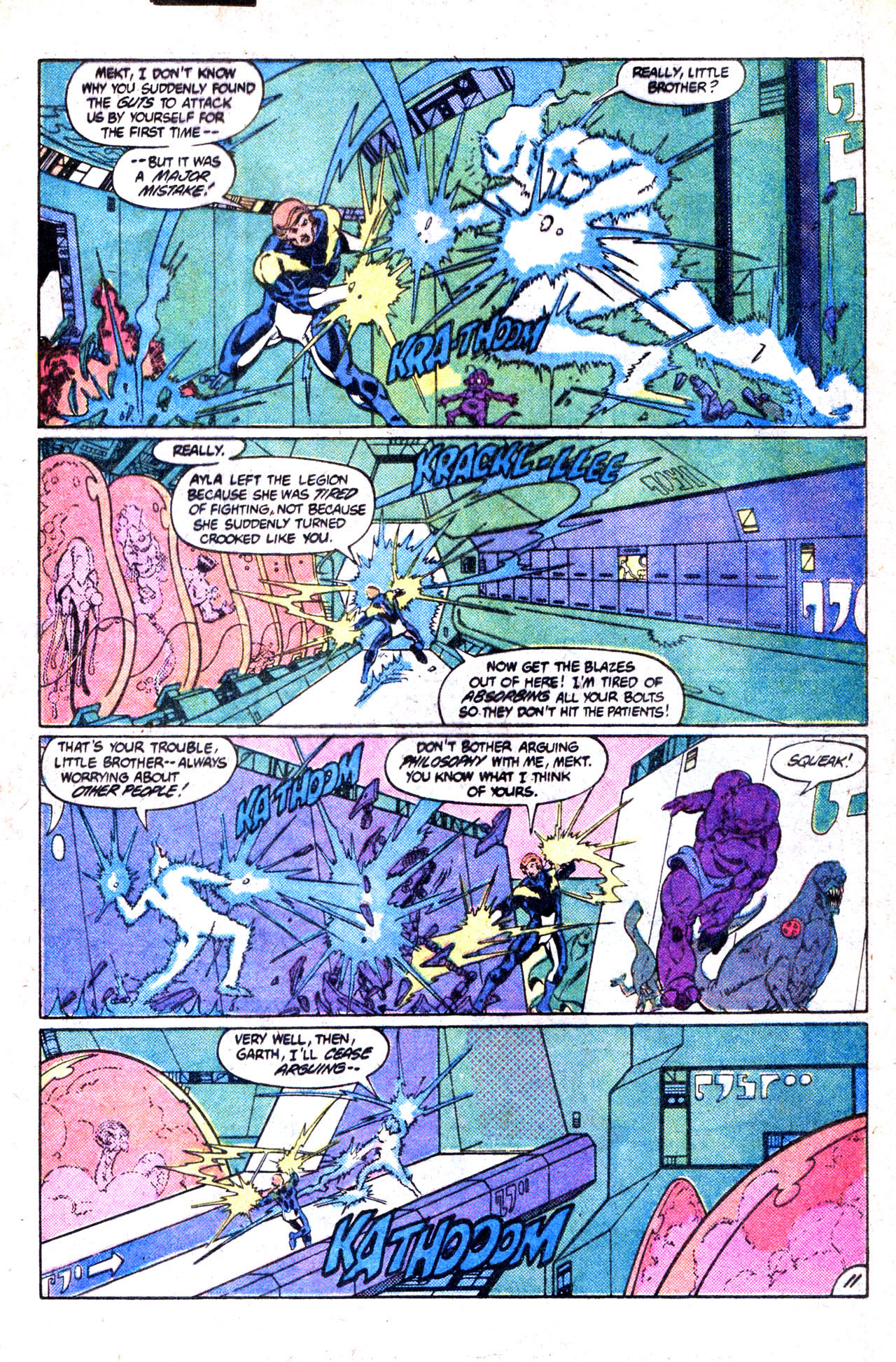 Legion of Super-Heroes (1980) 302 Page 15