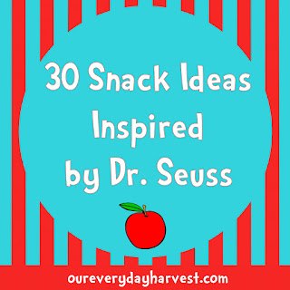 30 Snack Ideas Inspired by Dr. Seuss
