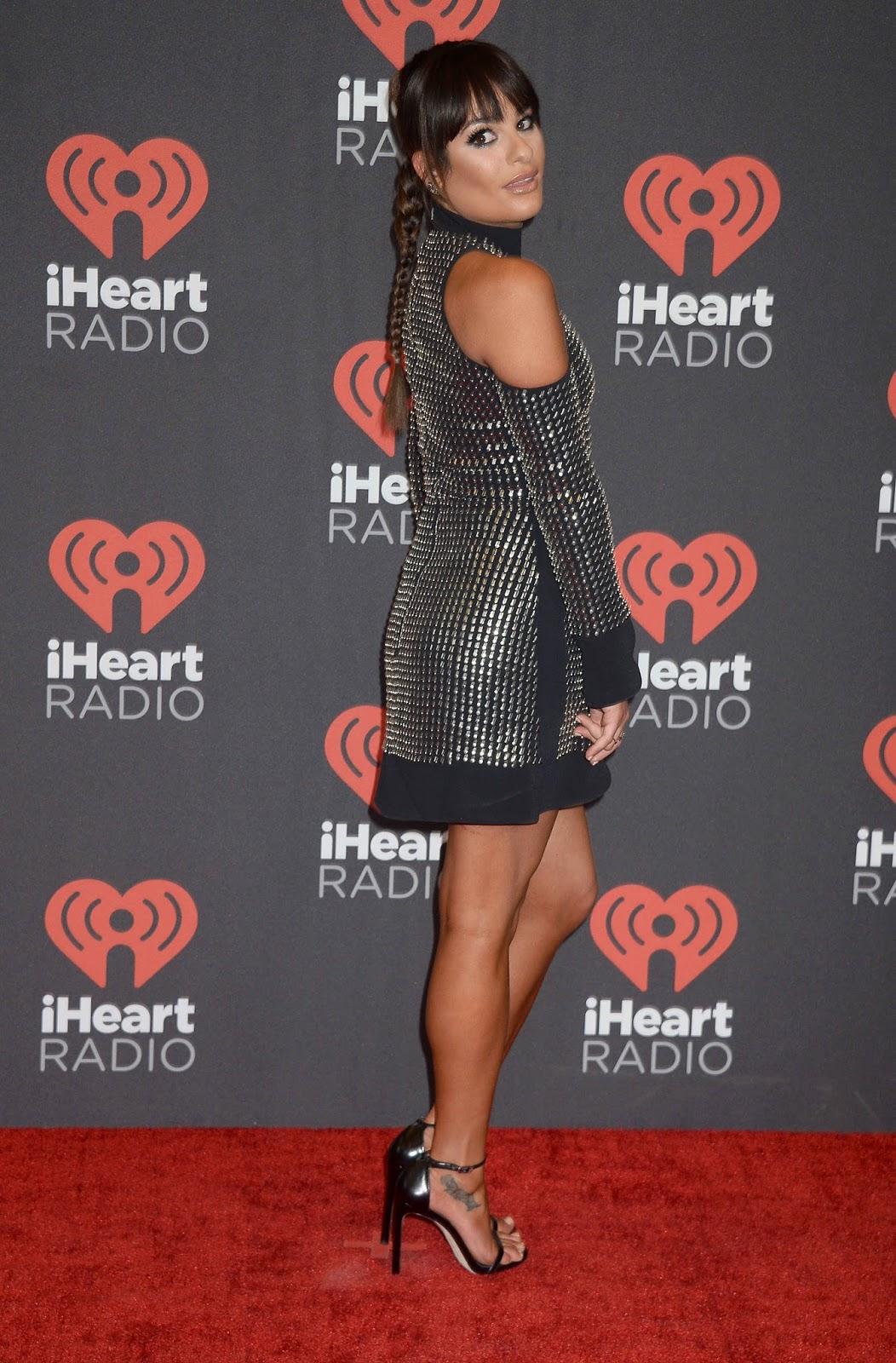 Lea Michele at 2016 IhearRradio Music Festival