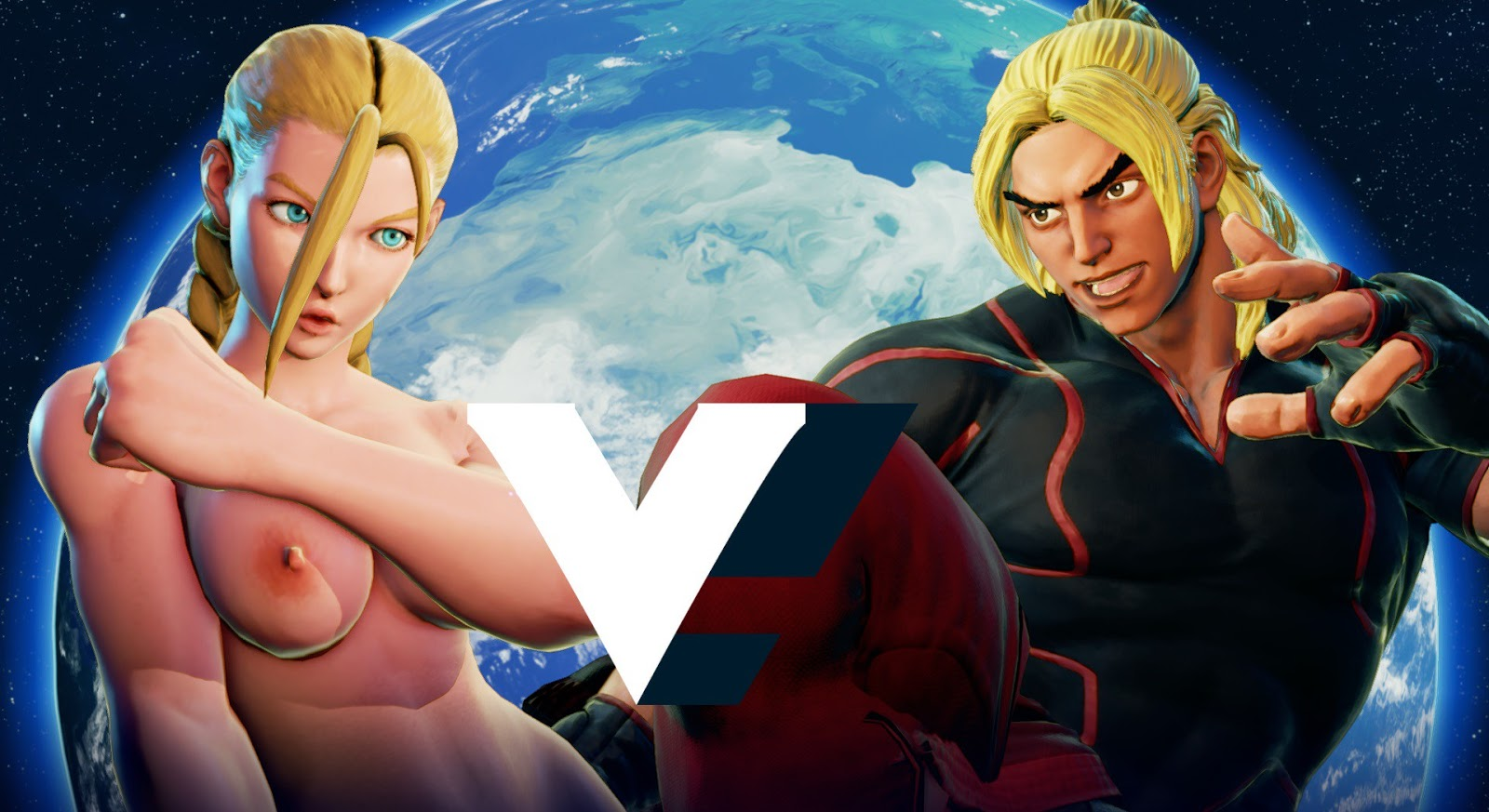 street fighter characters nude