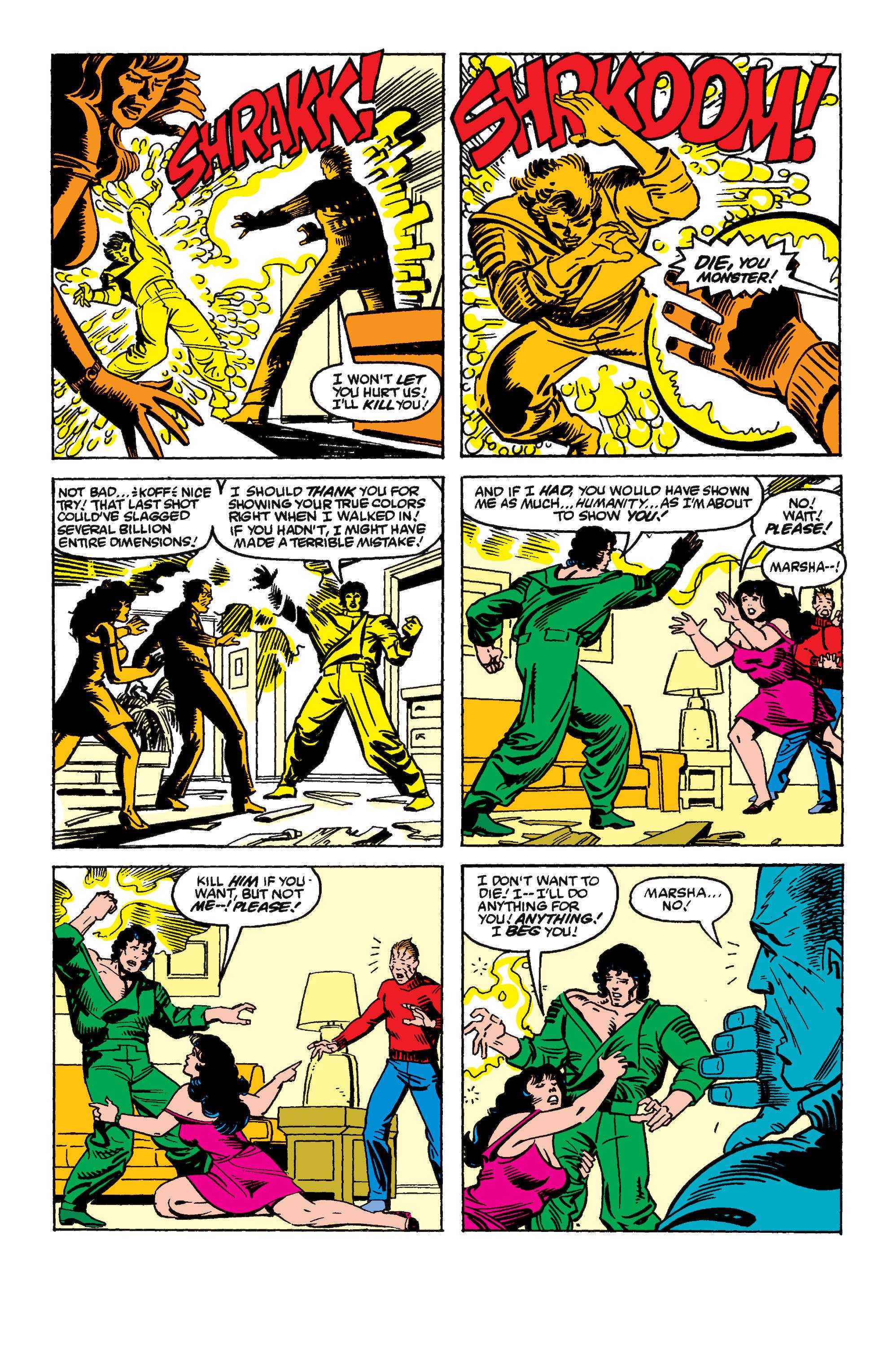 Read online Secret Wars II comic -  Issue #8 - 25