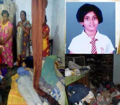 The 14-year-old Girl sexually assaulted and murdered Vavuniya Police Division