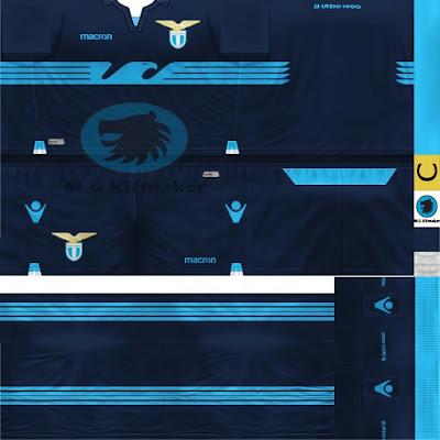 PES 6 Kits SS Lazio Season 2018/2019 by M.G Kitmaker