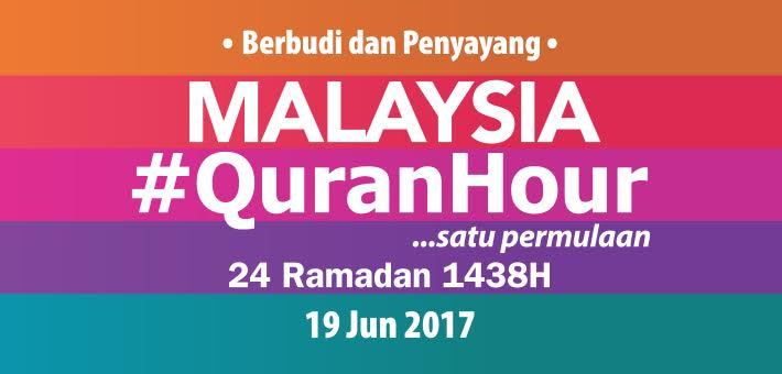 Hasil carian imej untuk malaysia quran hour 2017