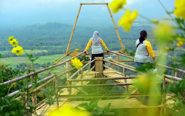 Spot foto di bukit Limasan, Magelang