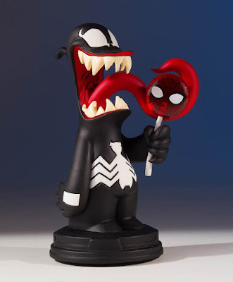 Venom Animated Marvel Mini Statue by Skottie Young & Gentle Giant