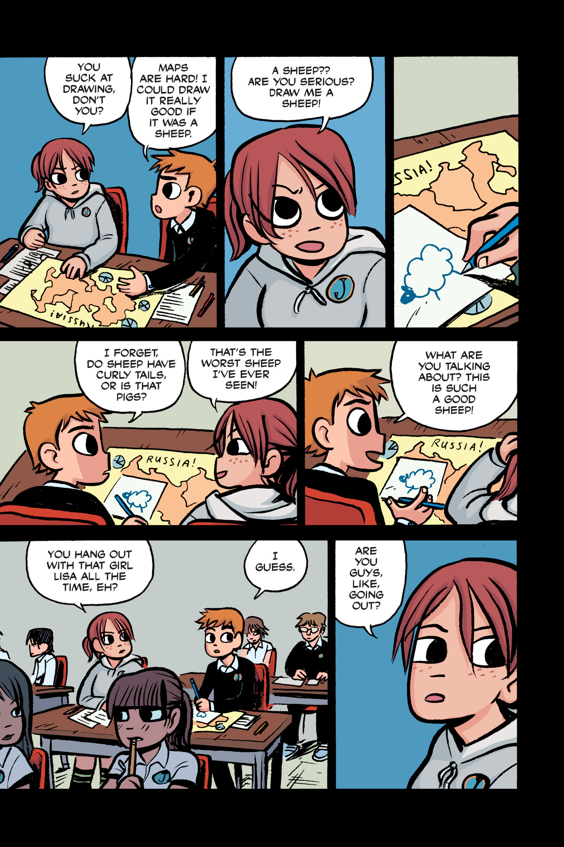 Read online Scott Pilgrim comic -  Issue #2 - 18