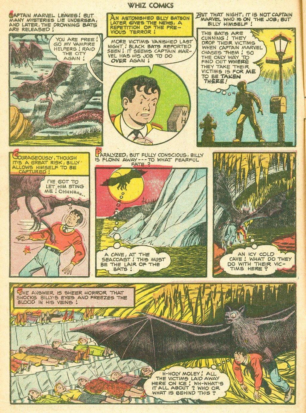 WHIZ Comics #155 #156 - English 6