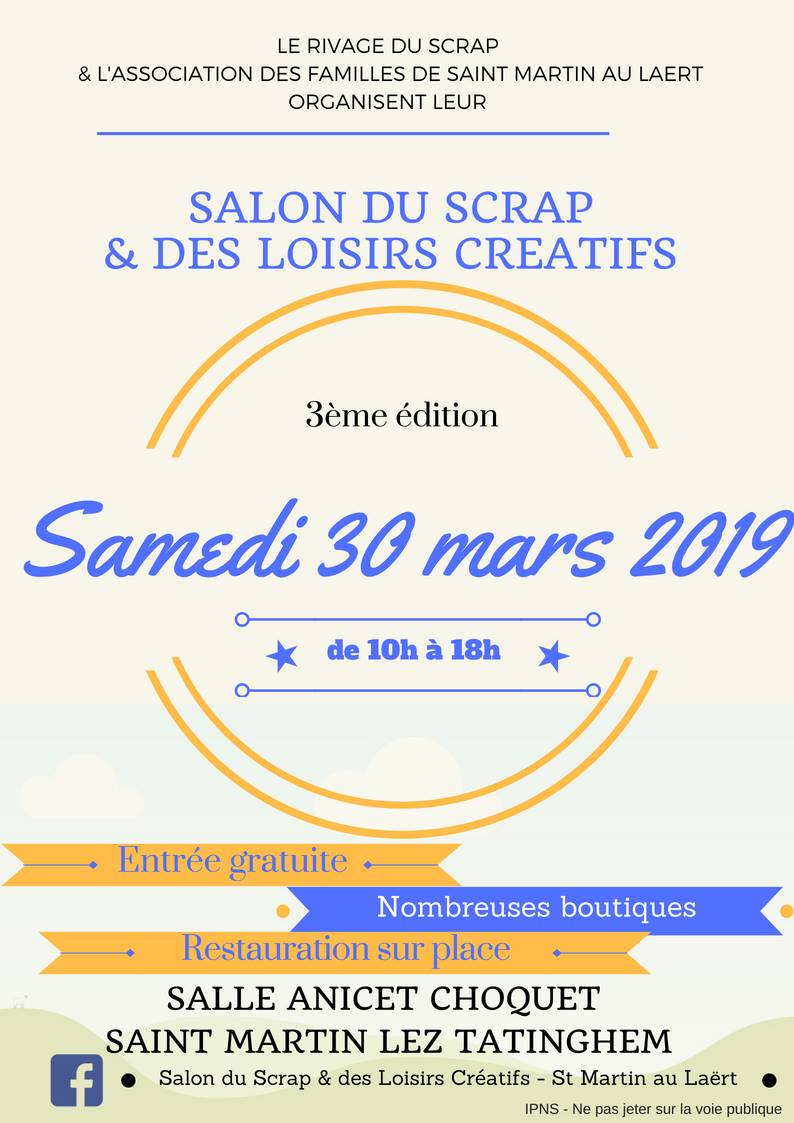 Salon du Scrap Saint Martin