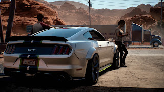 Ford Mustang NFS Payback Wallpaper