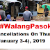 #Walangpasok-Class Cancellation: January 3 & 4, 2019