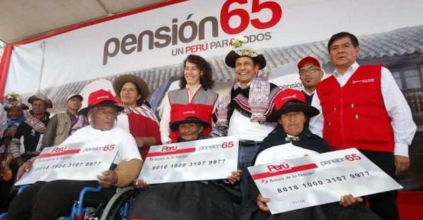 PENSIÓN 65: línea gratuita para consultas y denuncias - www.pension65.gob.pe