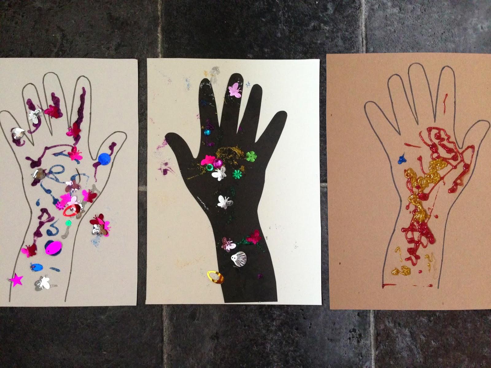 Diwali Hand Art Pre School Play