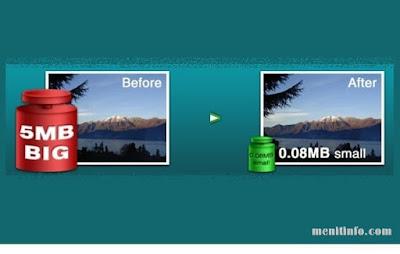 cara kompres foto tanpa merubah kualitas