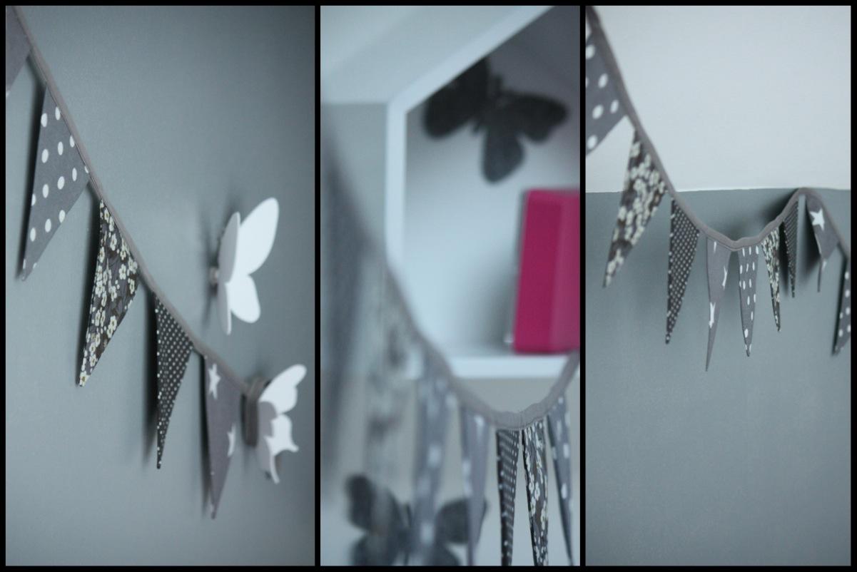 un nouveau regard chambre b b guirlande fanions. Black Bedroom Furniture Sets. Home Design Ideas