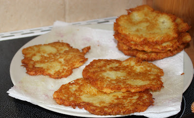 Polish potato pancakes Placki Ziemniaczane