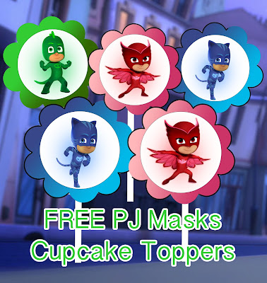 graphic regarding Pj Masks Printable Images identify PJ Masks Occasion Printables for Absolutely free