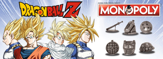 Visuel du Monopoly Dragon Ball Z
