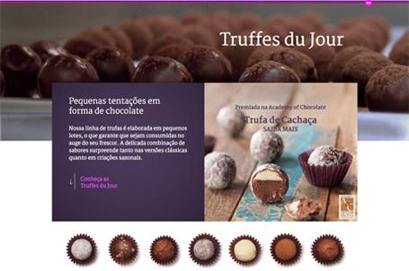 5c40de33d Mundo Das Marcas  CHOCOLAT DU JOUR