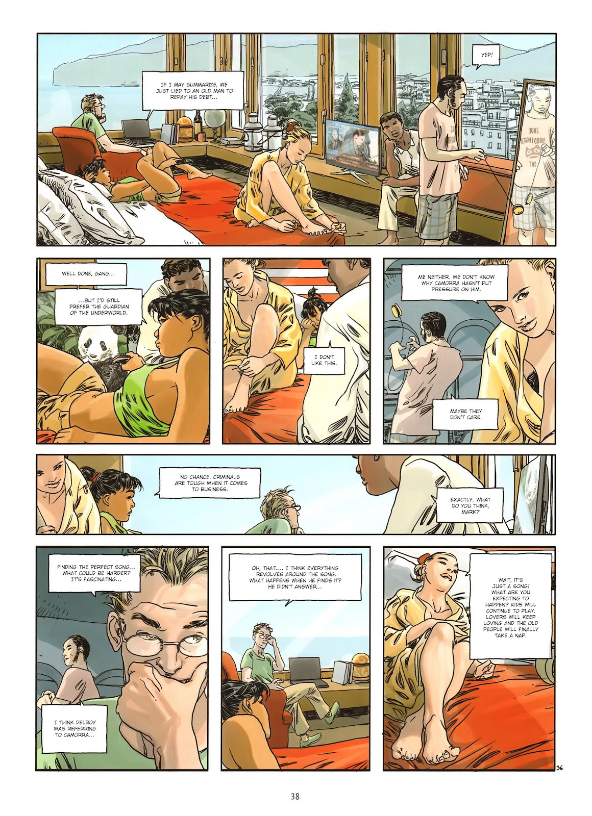 Read online Cutting Edge (2013) comic -  Issue #1 - 36