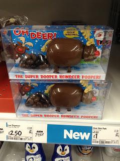 oh deer pooping reindeer