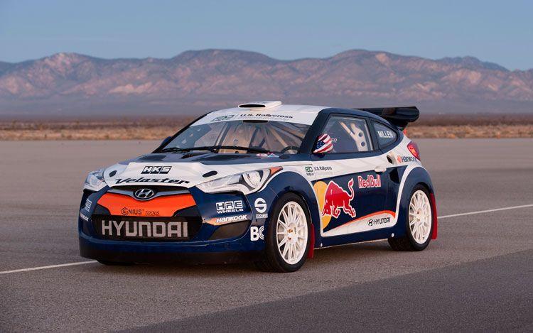 World Cars Hyundai Veloster Rally Car